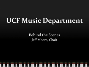 UCF Music Department - LIFE at UCF