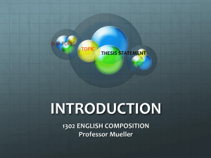 introduction - 1302englishcomposition