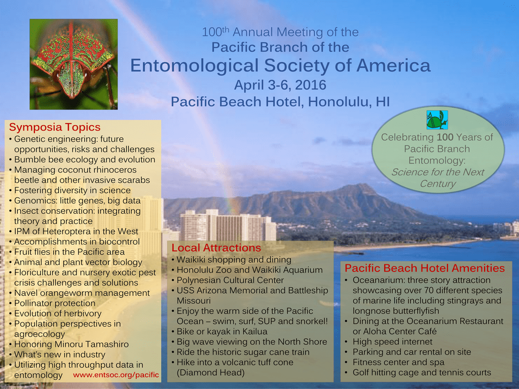 Pacific Branch Meeting - Entomological Society of America