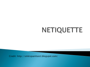 netiquette - WordPress.com