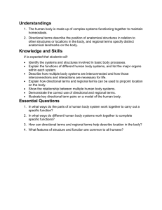 Knowledge and Skills - Fall River Public Schools