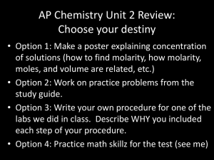 unit 2 review powerpoint - Blytheville Chemistry and Physics