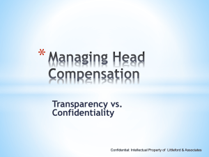 How is Head Compensation Determined?