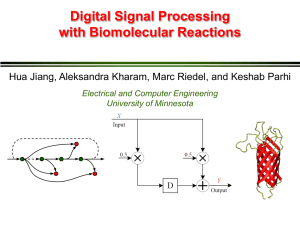 Digital Signal Processing - The Circuits and Biology Lab at UMN