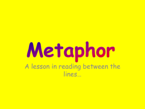 Metaphor - White Plains Public Schools