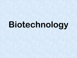 c. biotechnology powerpoint