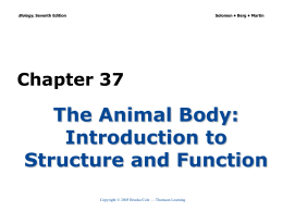 Chapter 37 - Biology Junction