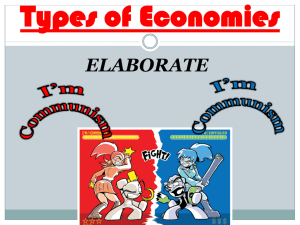 Introduction to Economy
