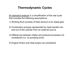 Otto Cycle Modeling