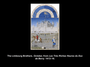 The Limbourg Brothers. October, from Les Très Riches Heures du