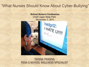 What School Nurses Should Know About Cyber
