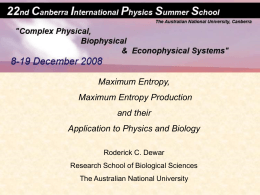 Maximum Entropy and Maximum Entropy Production Principles and