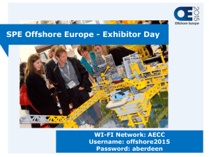 - SPE Offshore Europe