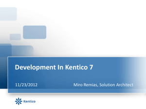 MiroRemias-Development_In_Kentico7