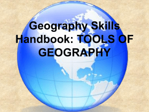 UNIT 1: TOOLS OF GEOGRAPHY