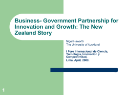 New Zealand: Economic Transformation from Growth and
