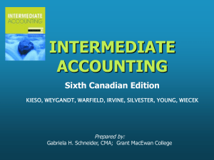 INTERMEDIATE ACCOUNTING 6th Canadian Edition KIESO