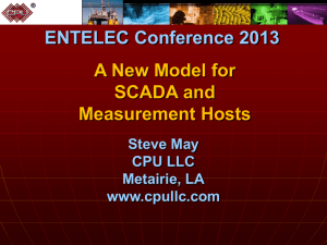 A New Model for SCADA and Measurement Host Systems