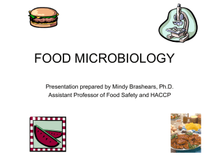 FOOD MICROBIOLOGY FDT 3301/5301