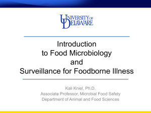 Introduction to Food Microbiology and Surveillance for Foodborne