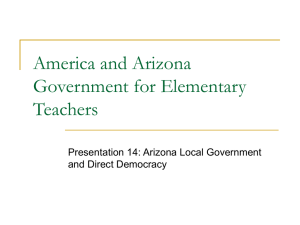Chapter 9 - Bureaucracy - Arizona Geographic Alliance
