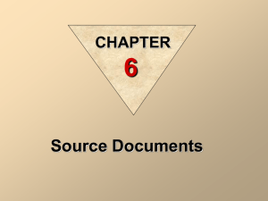 source documents