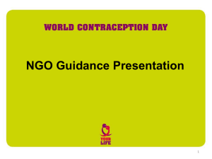NGO Guidance (PowerPoint)