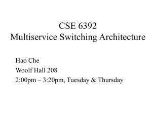 CSE 5344 Computer Networks