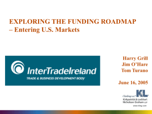 Exploring the Funding Roadmap: Entering U.S. Markets