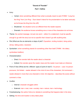 a sound of thunder 5 paragraph essay What are the causes and effects of earthquakes category: blog by rahul kakkar  short paragraph on tsunami essay on global warming: meaning, causes,.