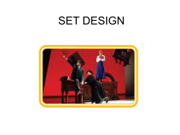 Set Design Powerpoint