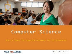 Computer Science Overview
