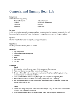 Gummy Worm Science Experiment Worksheet. Gummy. Best Free ...