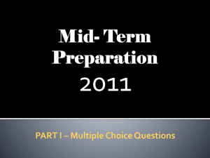 Mid-Term-Review