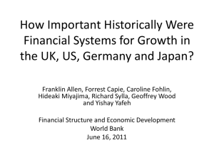 How Important Historically Were Financial Systems