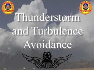 Thunderstorm and Turbulence Avoidance