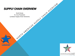 Why Outsource your Supply Chain
