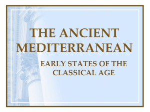 Ancient Mediterranean