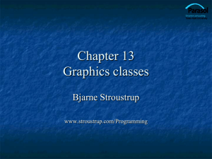 Ch13: Graphics Classes