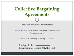 CBAs--Process, Practice, and Pitfalls