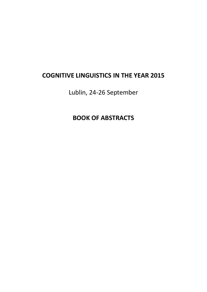 Cognitive linguistics in the year 2015 0101272951 05c3a703f51f850603a56ce02f801082g ccuart Image collections
