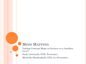 Mind Mapping Taking Concept Maps in Science to a Another Level
