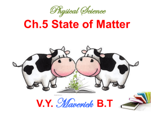 Ch.5 State of Matter