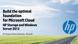 Build the Optimal Foundation for Microsoft Cloud