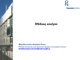 RNASeq analysis