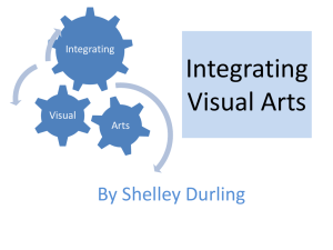 Integrating Visual Arts