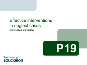 P19: effective interventions in neglect cases