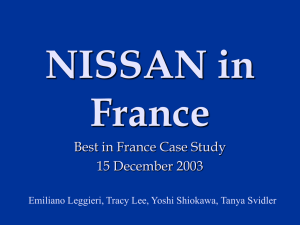 Nissan 2004 - BEST in FRANCE