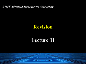 Lecture 11 – Powerpoint - Student Intranet ( CW )
