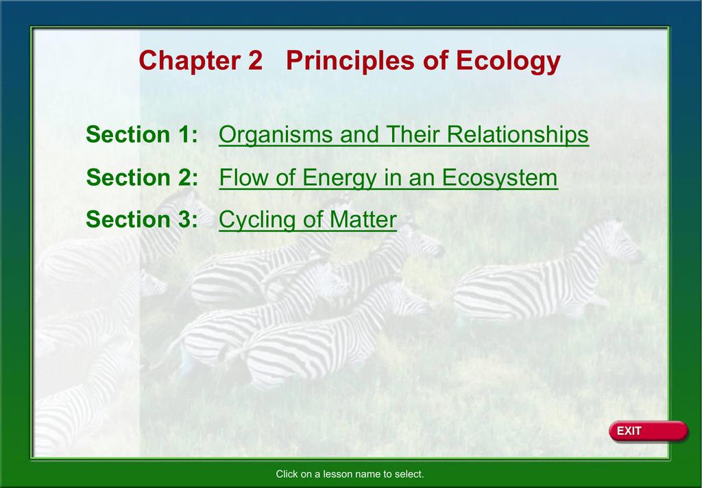 Glencoe Biology